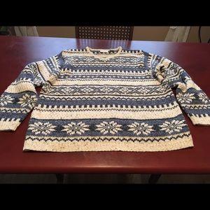 Very warm sweater.
